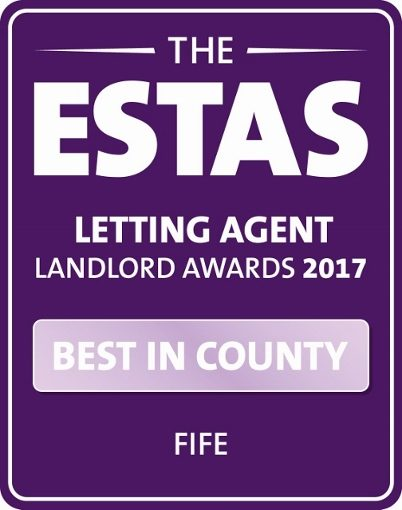Fife's No. 1 Letting Agent for the 7th year.