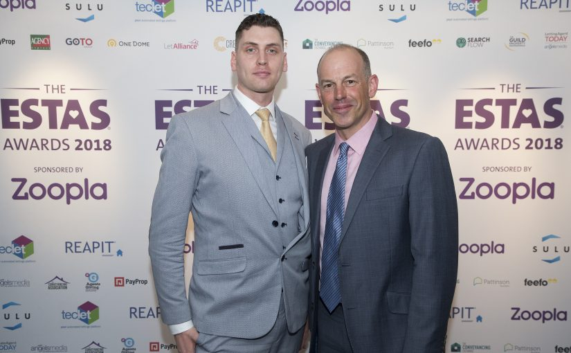 Fife Properties Estate & Letting Agents wins 'Best in County' award at The ESTAS